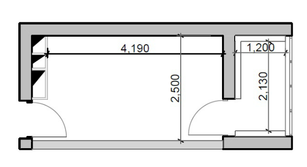 Дизайн интерьера гардеробная комната