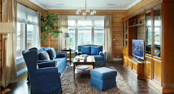 Как оформить в английском стиле интерьер различных жилых помещений