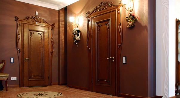 металическая дверь в холле эти принципы