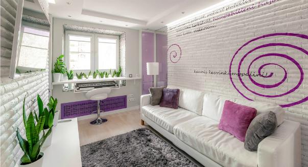 Планировка дизайна квартиры 2 кв м - 4Living