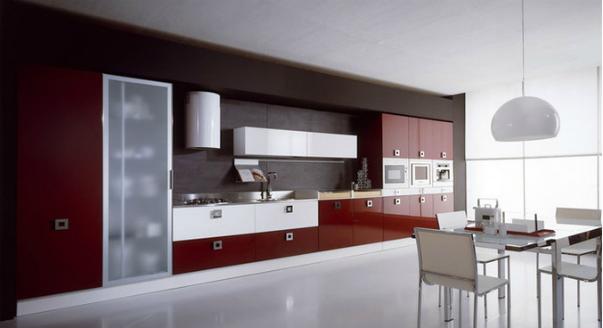 На фото: кухня Dali фабрики