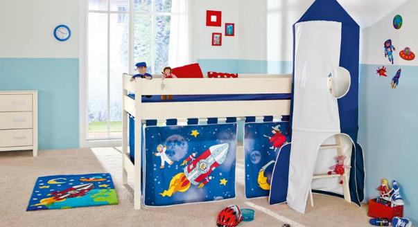 Украсить кровать детскую своими руками
