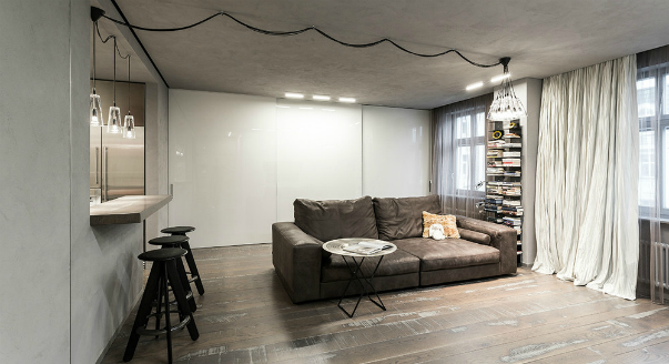 Дизайн маленьких студий фото 30 кв.м