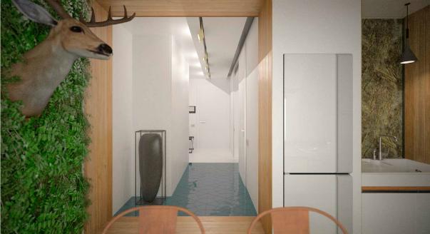 Дизайн стандартной комнаты в панельном доме