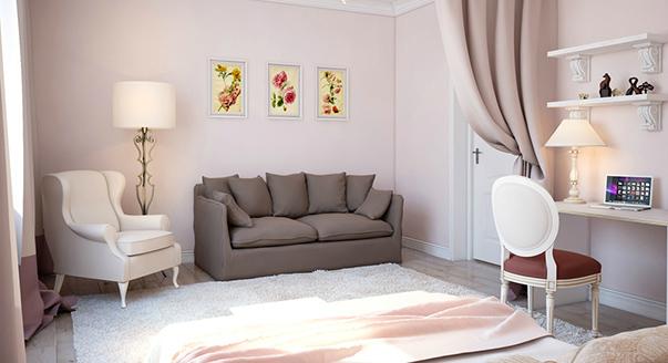 Спальня для девушки дизайн фото
