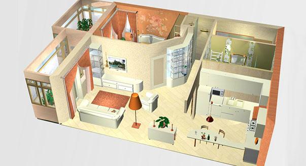 Дизайн однокомнатной квартиры-хрущевки В тесноте, да не в