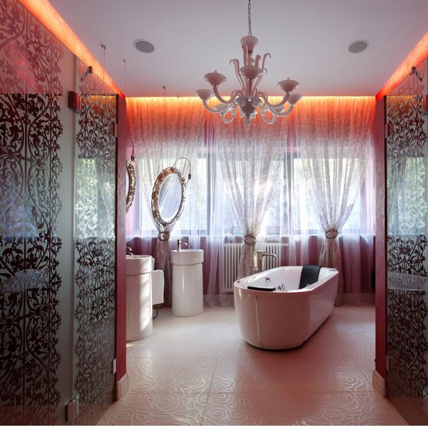 Отштукатуренная ванная комната недорогой смеситель для душа купить