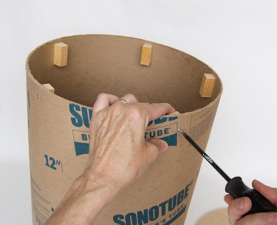 Как сделать пенек своими руками из бумаги