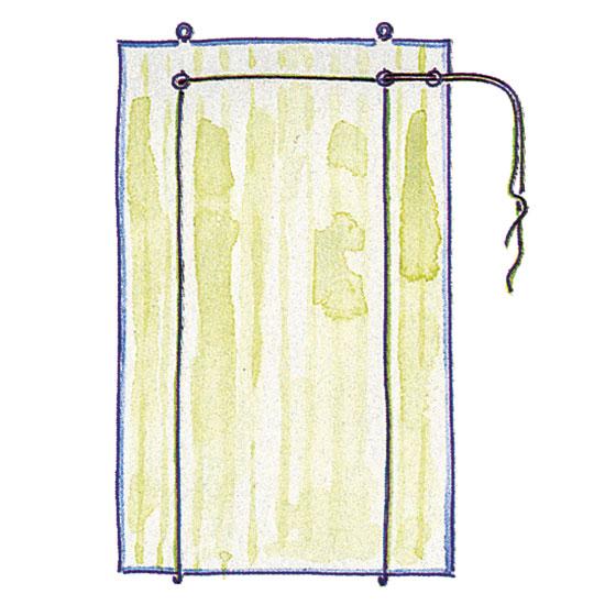 Рулонные шторы на пластиковые окна изготавливаем своими