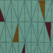 На фото: проект «Play Design… Take it easy», обои O-Design / BorasTapeter, коллекция Wallpapers by Scandinavian designers, рисунок RATIO.