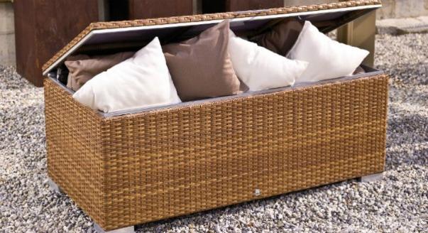 Плетеный сундук cushion box из коллекции