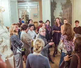 Чаепития у Пушкина с «Паркет-Холл»