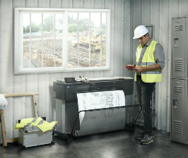 HP выпускает принтеры для архитекторов