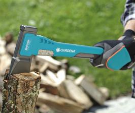 Рубим дрова с GARDENA