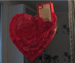 Утренний привет для любимых: сердечко ко Дню влюбленных своими руками