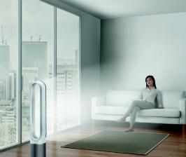 Dyson эффективно очищает воздух