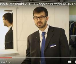 Свежие решения Villeroy & Boch<br>Видео с Mosbuild 2016