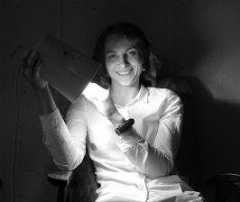 Анна Феоктистова о деревянных светильниках