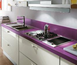 Материалы кухонных столешниц