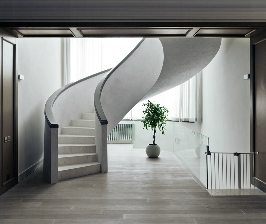 Отделка ступеней лестницы: 5вариантов