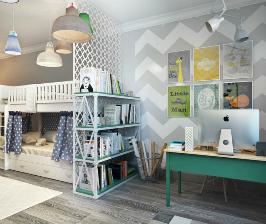 Домашнее задание: как обустроить рабочее место в интерьере квартиры