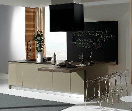 Заметки на стенах кухни