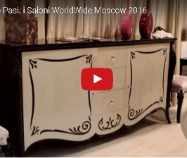 Современная классика Francesco Pasi.<br>Видео с i Saloni WorldWide Moscow 2016