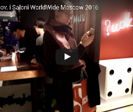 Стенд Макса Касымова на i Saloni WorldWide Moscow 2016