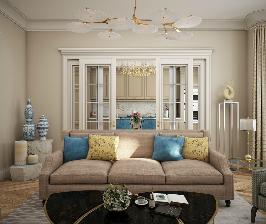 Бискайская шкатулка: проект квартиры от Анны Логиновой