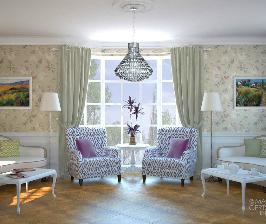 Дом в английском стиле: интерьер загородного дома от дизайнера Марины Герцевой
