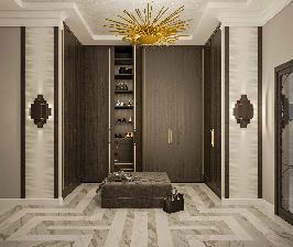 Квартира в стиле ар-деко: проект студии Точка дизайна
