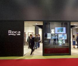 Экспозиция Roca и Laufen на MosBuild 2017