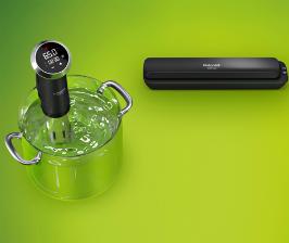 Набор от Hotpoint для приготовления вкусной и полезной пищи по технологии «су-вид»