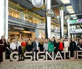 Ультра премиальный бренд LGSIGNATURE провел круглый стол для архитекторов и дизайнеров