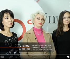 Экспресс-интервью LG Electronics и Арсения Леоновича на PinWin 11