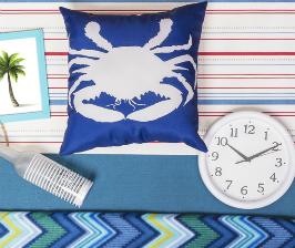 «Леруа Мерлен» представляет морскую коллекцию декоративных товаров