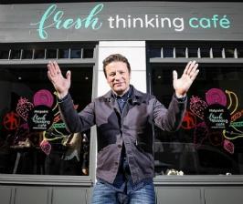Hotpoint и Джейми Оливер представили Fresh Thinking pop-up кафе, где можно попробовать блюда из «забытых» продуктов