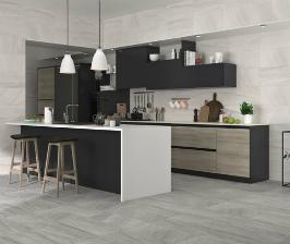 Керамическая плитка – основной ингредиент в отделке кухни