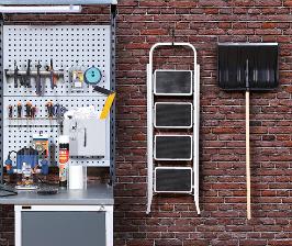 Инструмент и средства хранения для любительской мастерской в Леруа Мерлен