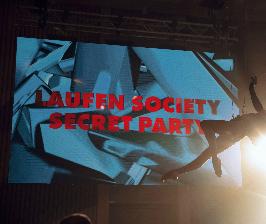 LAUFEN SOCIETY. SECRET PARTY