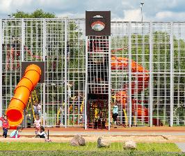 По проекту GAFA Architects открылось детское игровое пространство в подмосковном ЖК
