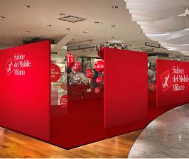 Salone del Mobile.Milano в универмаге Isetan Shinjuku в Токио