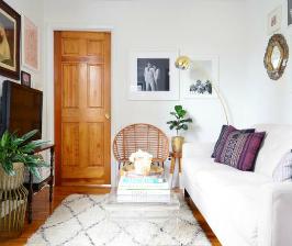 Как правильно декорировать небольшую комнату