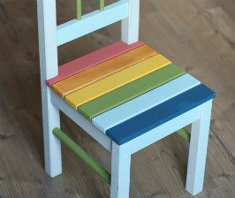 Как покрасить детскую мебель?