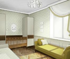 2. Свои комнаты для новорожденных