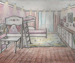 Однокомнатная квартира для четверых