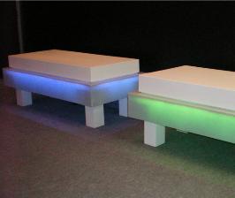 Светящаяся мебель от KWS