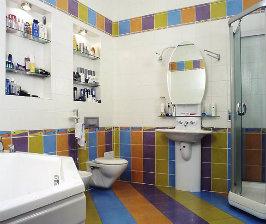 Отделка ванной: от 30 000 до 60 000 руб.