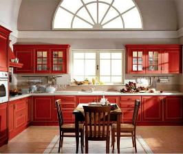 <strong>20</strong> красных кухонь