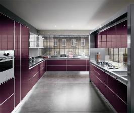 <strong>11</strong> фиолетовых кухонь